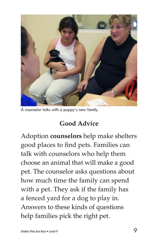 Book Preview For Shelter Pets Are Best Page 9
