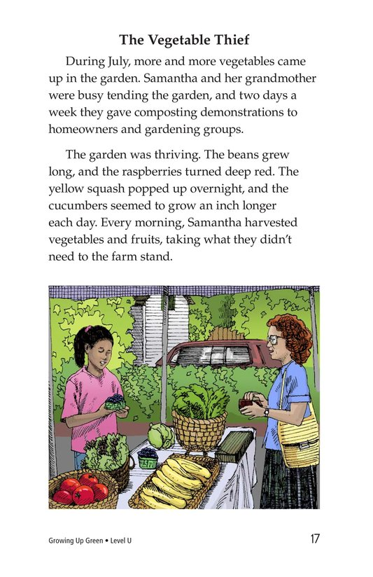 Book Preview For Growing Up Green Page 17