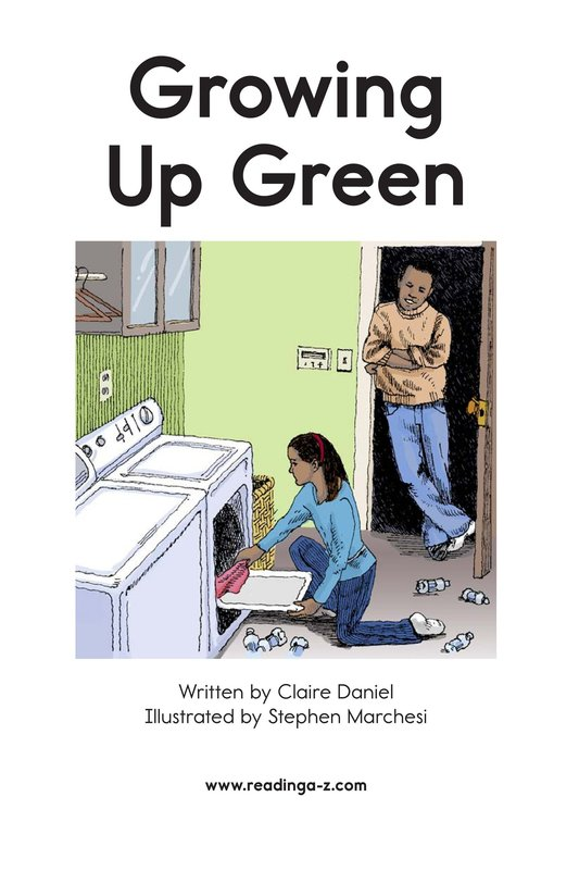 Book Preview For Growing Up Green Page 2