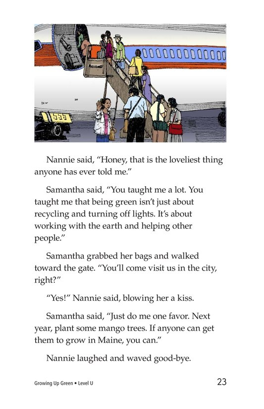Book Preview For Growing Up Green Page 23