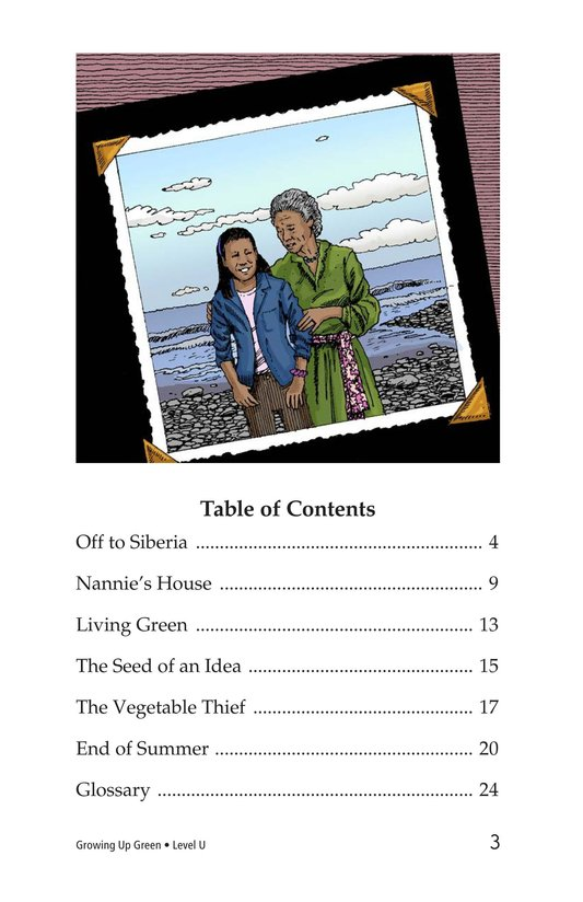 Book Preview For Growing Up Green Page 3