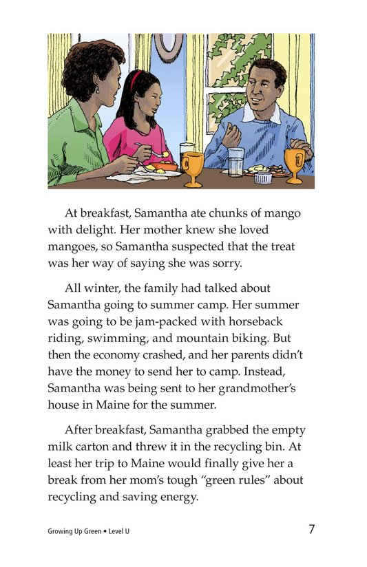 Book Preview For Growing Up Green Page 7