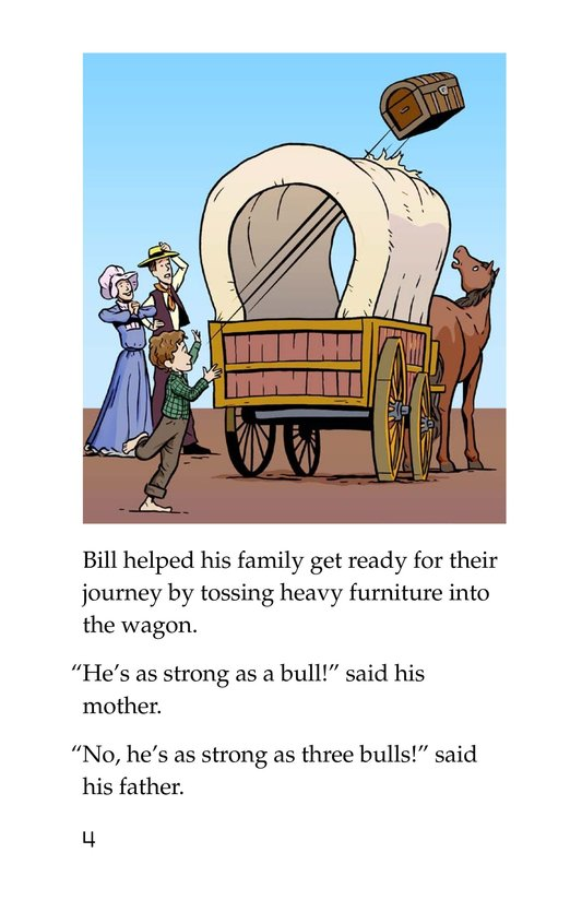 Book Preview For Pecos Bill Rides a Tornado Page 4