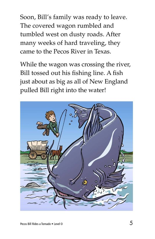 Book Preview For Pecos Bill Rides a Tornado Page 5