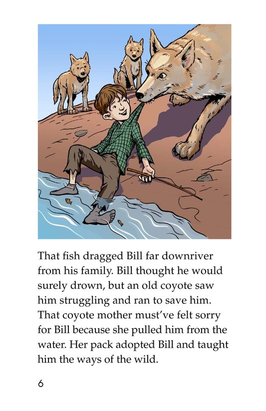 Book Preview For Pecos Bill Rides a Tornado Page 6