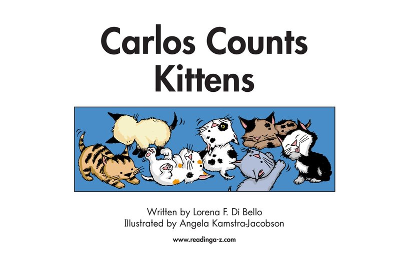 Book Preview For Carlos Counts Kittens Page 2