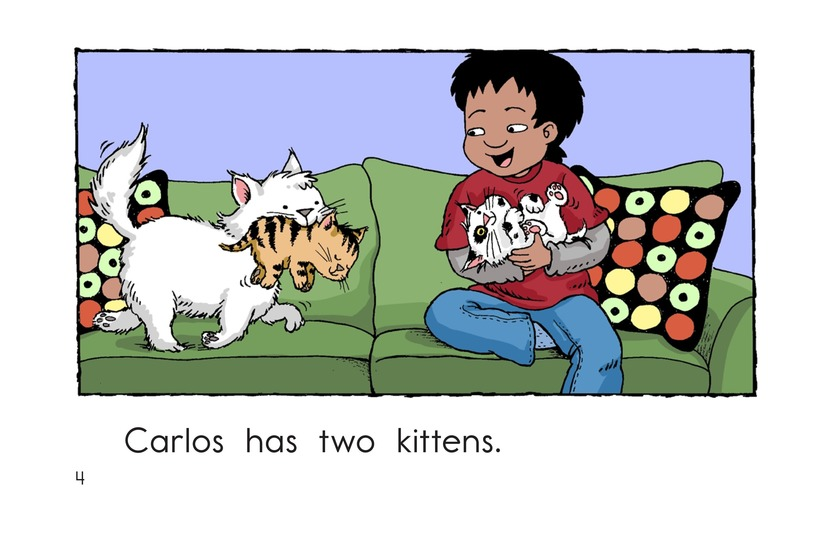 Book Preview For Carlos Counts Kittens Page 4