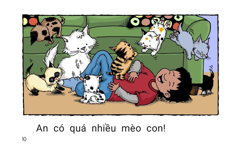 Book Preview For Carlos Counts Kittens Page 10