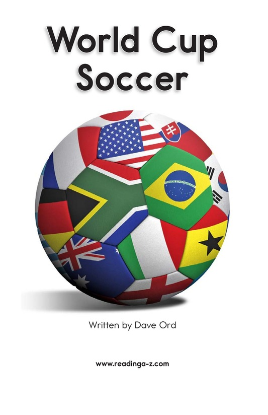 Book Preview For World Cup Soccer Page 1