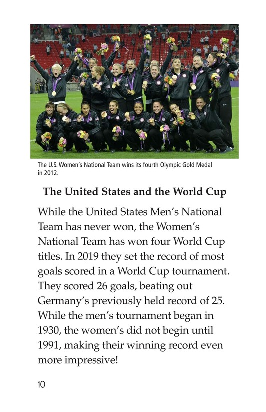 Book Preview For World Cup Soccer Page 10