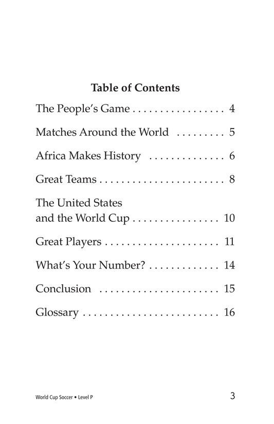 Book Preview For World Cup Soccer Page 3