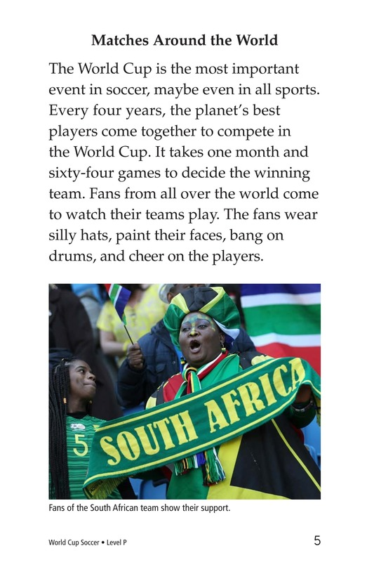 Book Preview For World Cup Soccer Page 5