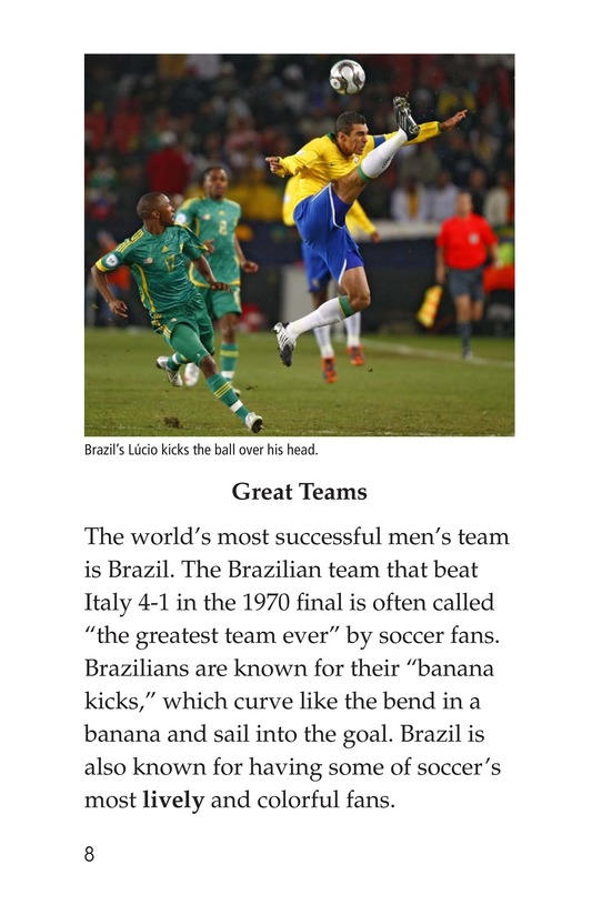 Book Preview For World Cup Soccer Page 8