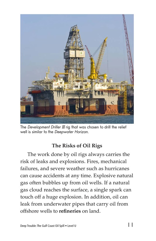 Book Preview For Deep Trouble: The Gulf Coast Oil Spill Page 11