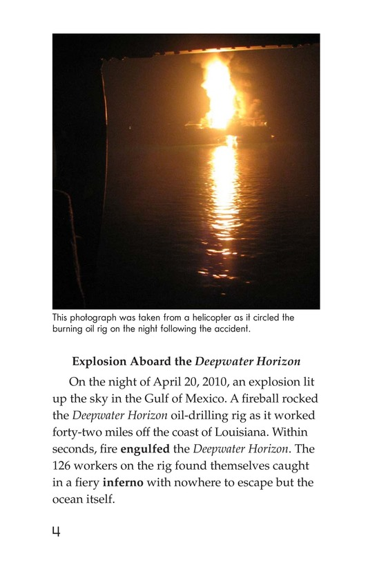 Book Preview For Deep Trouble: The Gulf Coast Oil Spill Page 4