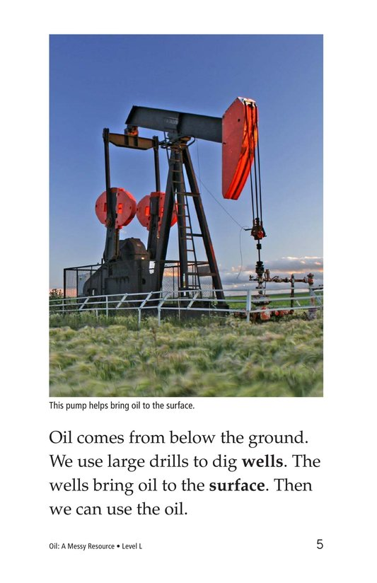 Book Preview For Oil: A Messy Resource Page 5