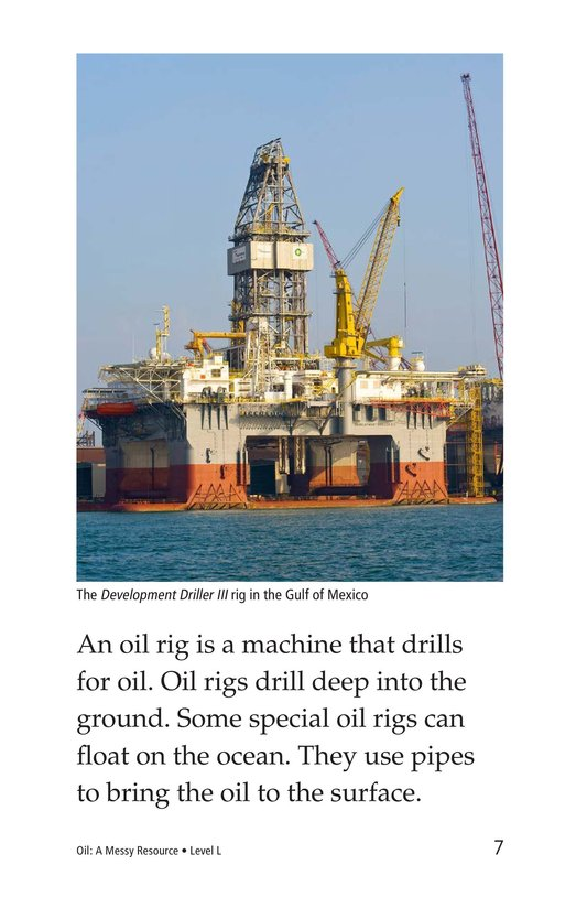 Book Preview For Oil: A Messy Resource Page 7