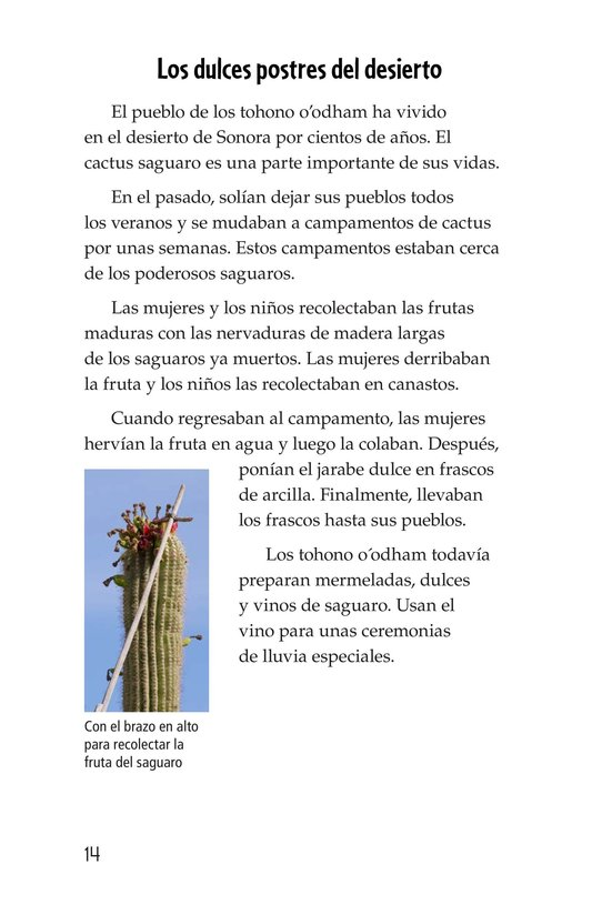 Book Preview For The Mighty Saguaro Cactus Page 14
