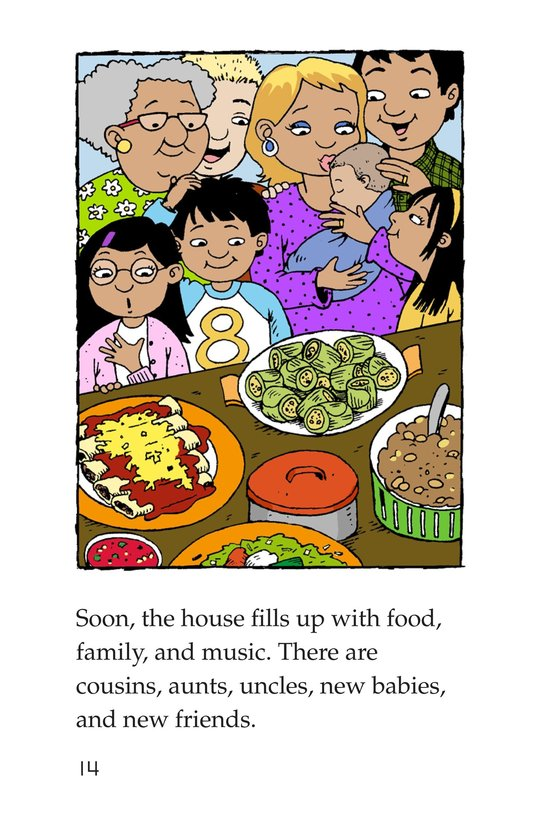 Book Preview For Carlos's Family Celebration Page 14