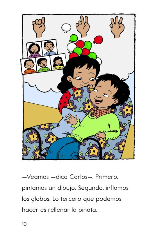 Book Preview For Carlos's Family Celebration Page 10