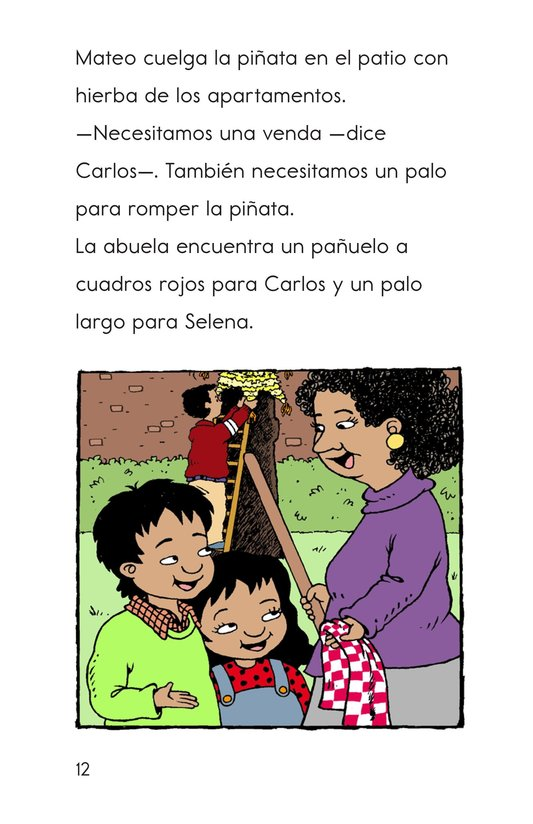 Book Preview For Carlos's Family Celebration Page 12