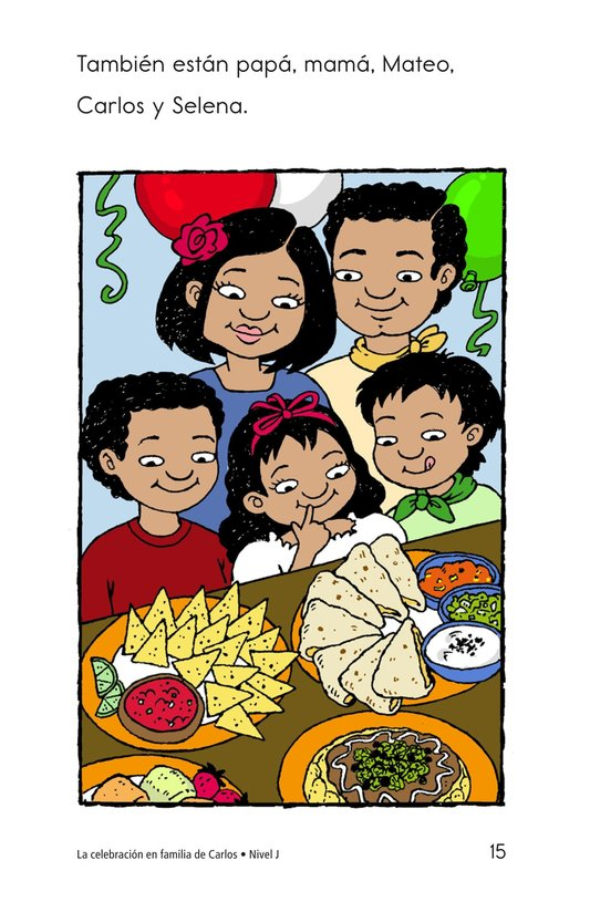 Book Preview For Carlos's Family Celebration Page 15