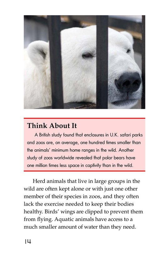 Book Preview For Zoos: Pro or Con? Page 14