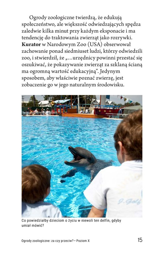 Book Preview For Zoos: Pro or Con? Page 15