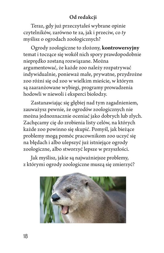 Book Preview For Zoos: Pro or Con? Page 18