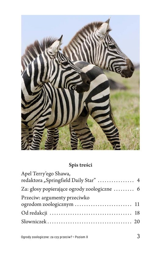 Book Preview For Zoos: Pro or Con? Page 3