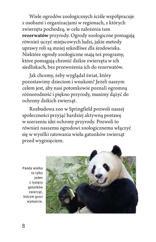 Book Preview For Zoos: Pro or Con? Page 8