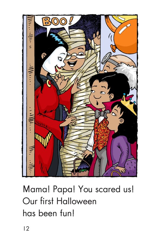 Book Preview For Carlos's First Halloween Page 12