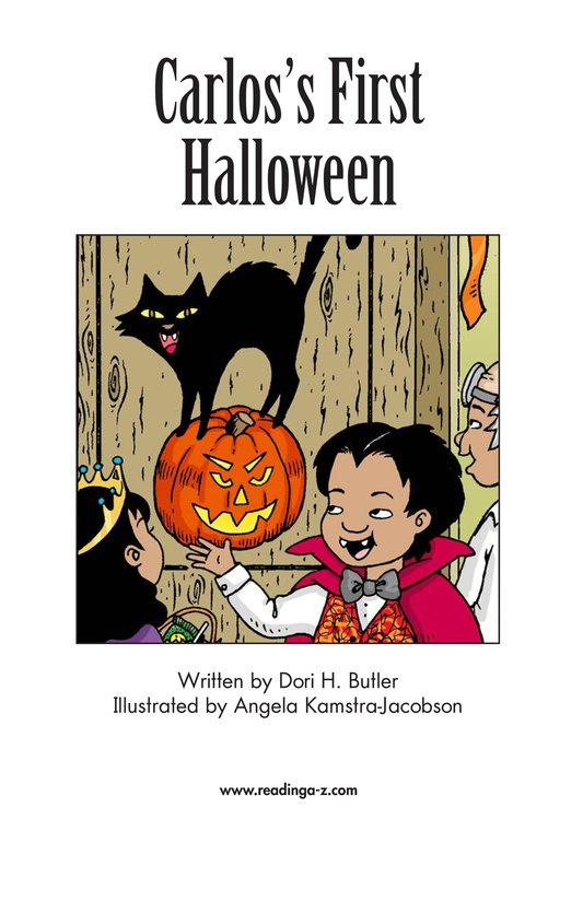 Book Preview For Carlos's First Halloween Page 2