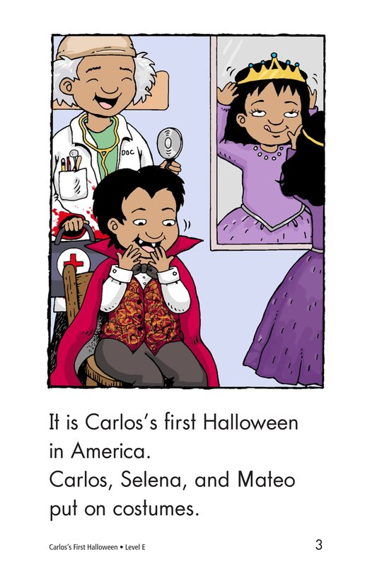 Book Preview For Carlos's First Halloween Page 3