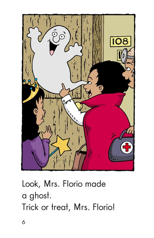 Book Preview For Carlos's First Halloween Page 6