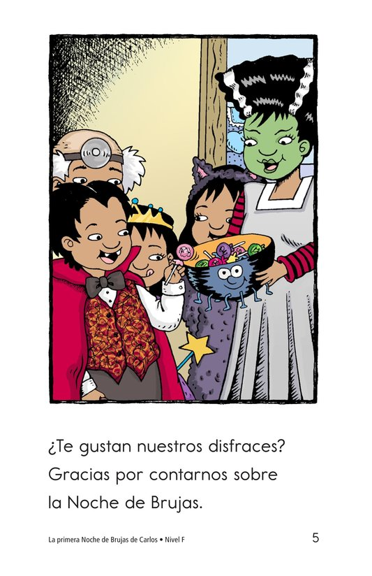 Book Preview For Carlos's First Halloween Page 5