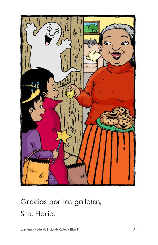 Book Preview For Carlos's First Halloween Page 7