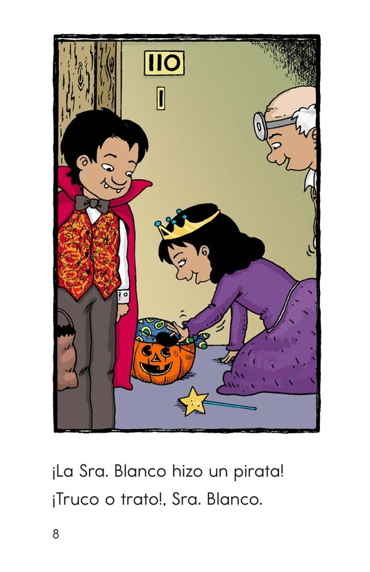 Book Preview For Carlos's First Halloween Page 8