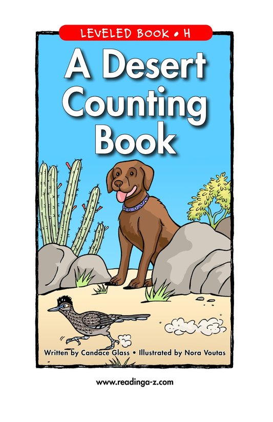 Book Preview For A Desert Counting Book Page 1