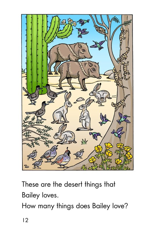 Book Preview For A Desert Counting Book Page 12
