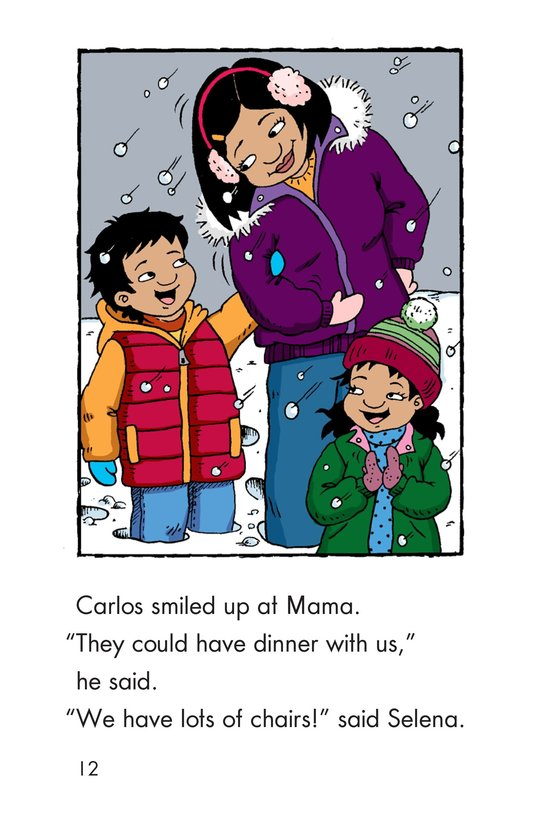 Book Preview For Carlos's First Thanksgiving Page 12