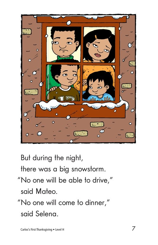 Book Preview For Carlos's First Thanksgiving Page 7