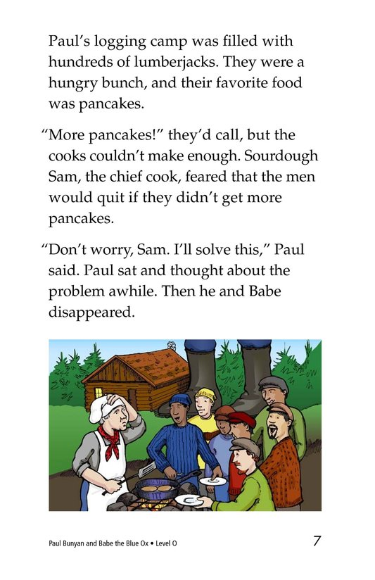 Book Preview For Paul Bunyan and Babe the Blue Ox Page 7