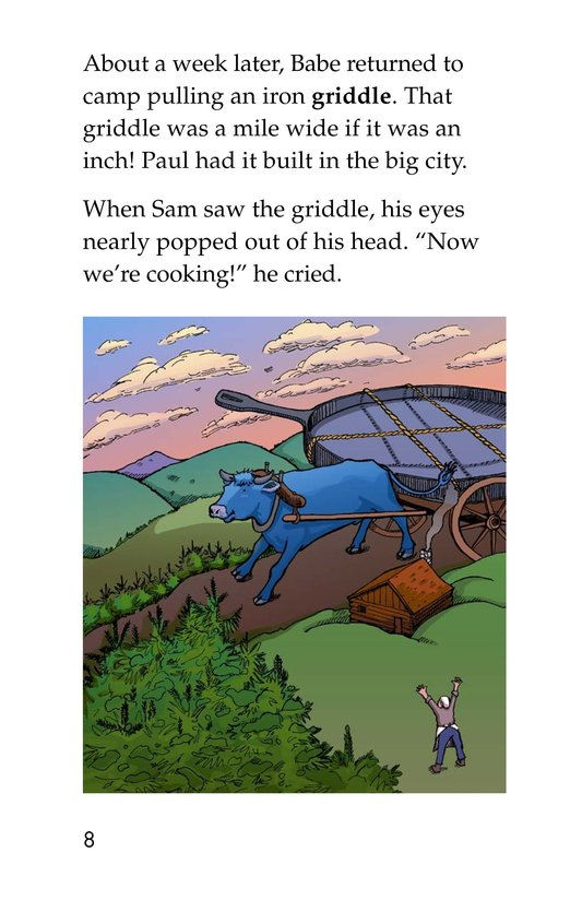Book Preview For Paul Bunyan and Babe the Blue Ox Page 8