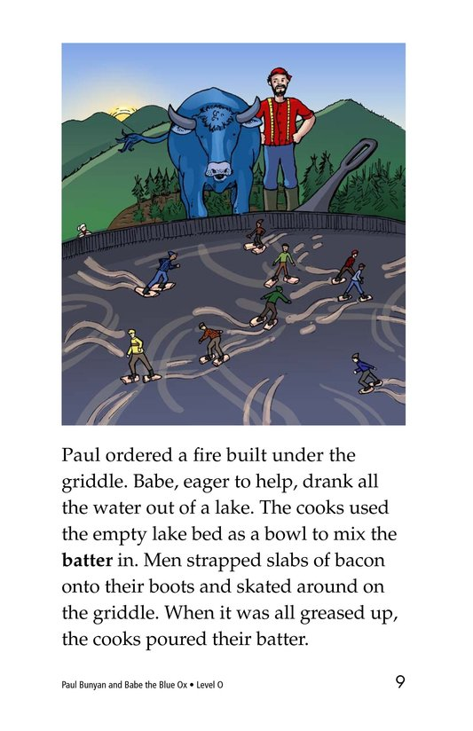 Book Preview For Paul Bunyan and Babe the Blue Ox Page 9