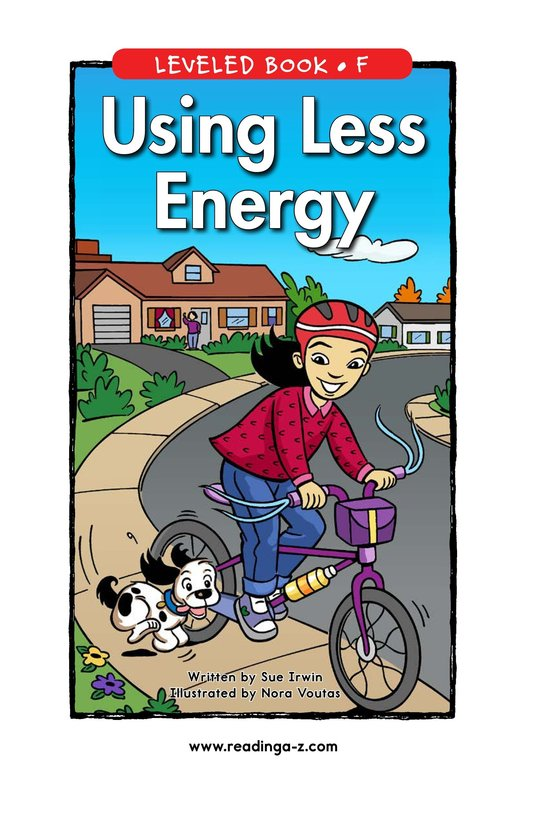 Book Preview For Using Less Energy Page 0