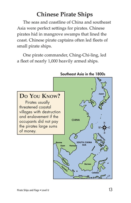 Book Preview For Pirate Ships and Flags Page 13
