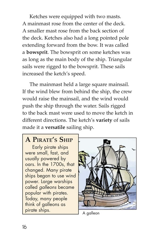 Book Preview For Pirate Ships and Flags Page 16