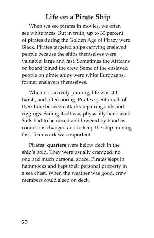 Book Preview For Pirate Ships and Flags Page 20