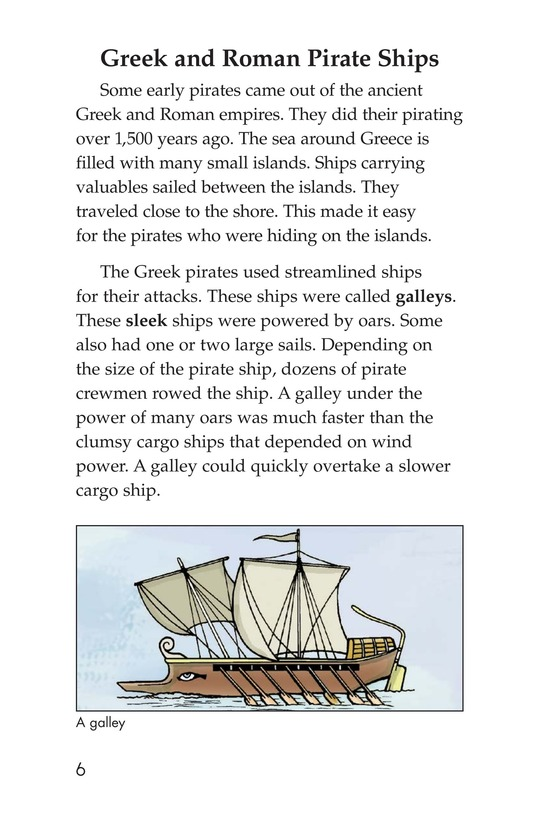 Book Preview For Pirate Ships and Flags Page 6
